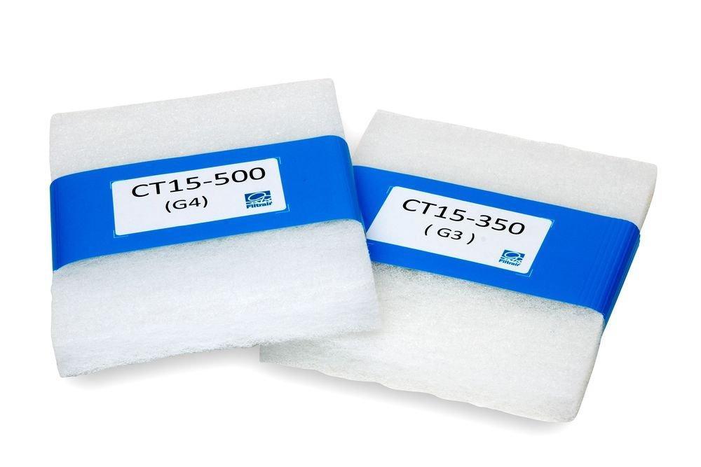 Filtermatten CT15-500 G4 CT15-350 G3 Filtrair