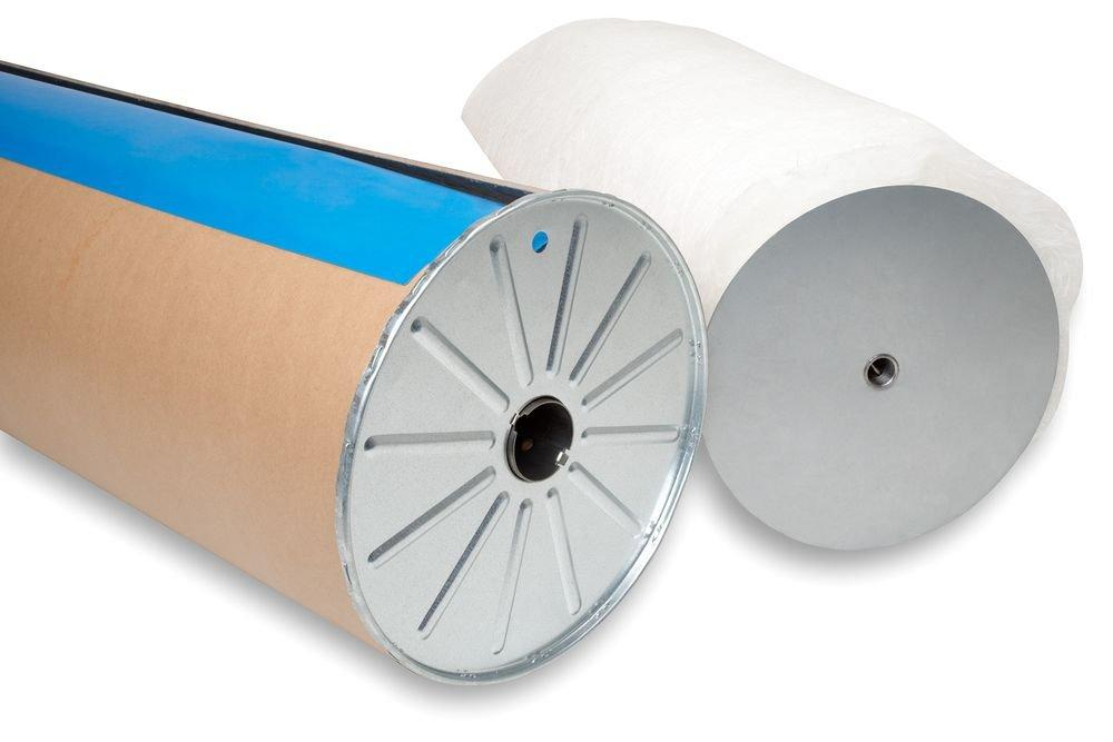 Rollbandfilter Glasfaser und Synthetische Medien in Kassette auf Stahlspule auf Papprohr