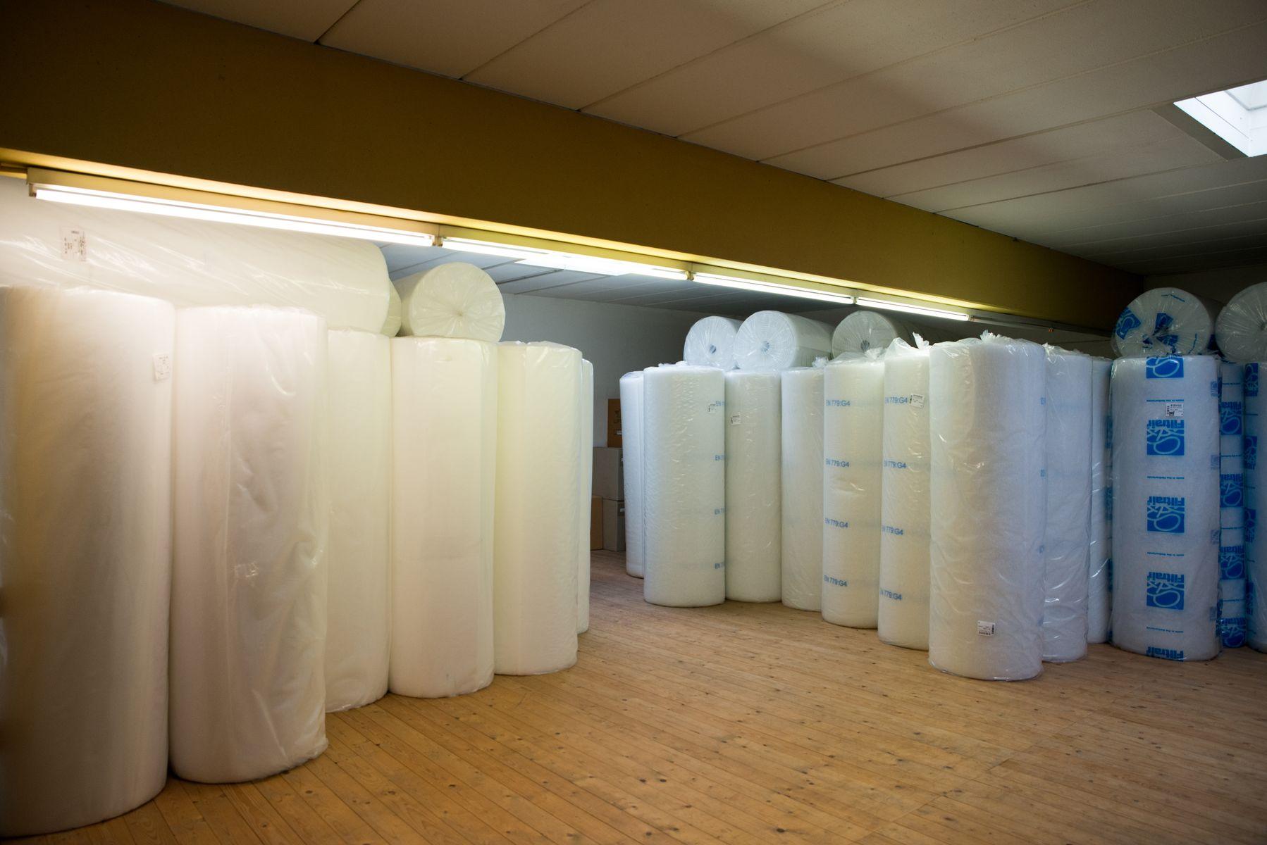 Filtermatten Filtervlies Lagerbestand